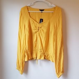 Yellow Express Boho Top